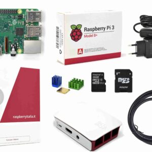 Raspberryitalia raspberry pi 3 b plus official desktop starter kit kingston 16g
