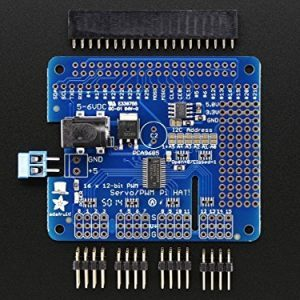 raspberryitalia adafruit 16 channel pwm servo hat for raspberry pi mini kit