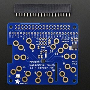 raspberryitalia adafruit capacitive touch hat for raspberry pi mini kit