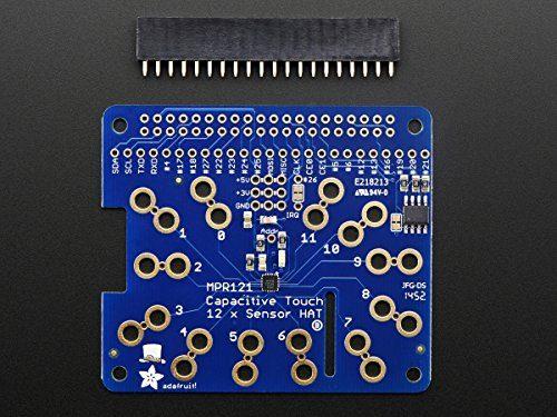raspberryitalia adafruit capacitive touch hat for raspberry pi mini kit