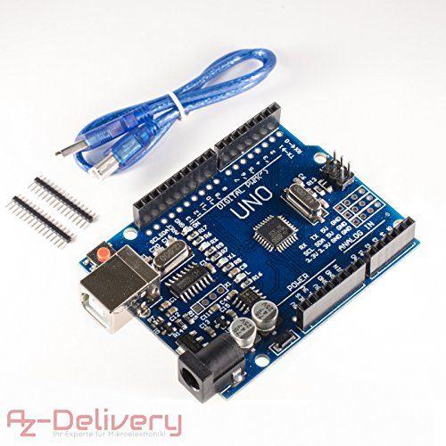 raspberryitalia azdelivery uno r3 atmega328 con cavo usb 100 compatibile con arduino