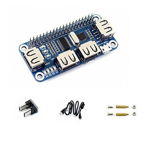 raspberryitalia cqrobot supports raspberry pi zerozero wzero wh 2b 3b 3b 4 port usb