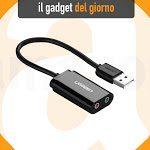 Da Ugreen l'adattatore che mette presa cuffie e microfono su qualsiasi USB: anche su Mac e iPad - Macity