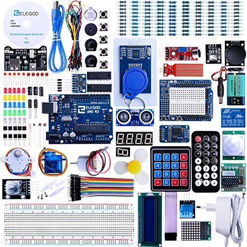 raspberryitalia elegoo progetto arduino scheda uno r3 starter ultimate kit piu completo per