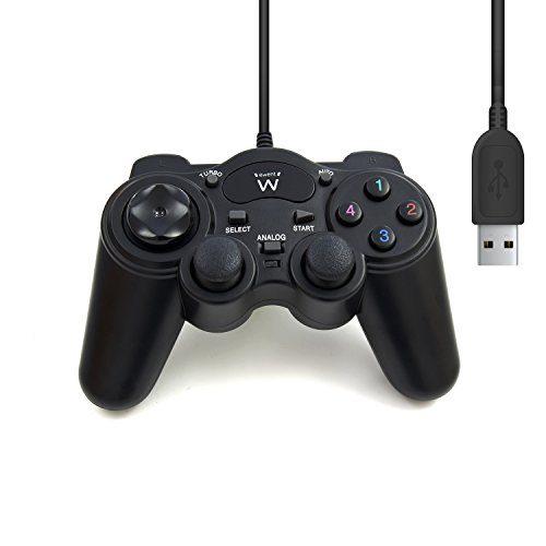 raspberryitalia ewent ew3170 gamepad controller joypad per pc computer dual vibration 1 1