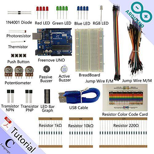 raspberryitalia freenove basic starter kit for arduino beginner learning uno r3 mega nano