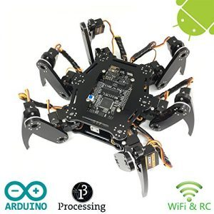 raspberryitalia freenove hexapod robot kit arduino based project raspberry pi spider