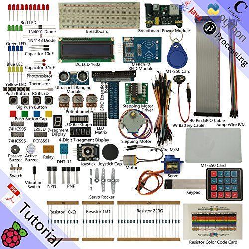 raspberryitalia freenove rfid starter kit for raspberry pi model 3b 3b 3a 2b 1b 1a zero 1