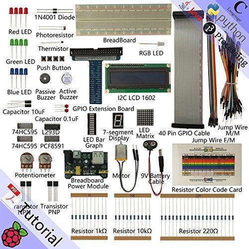 raspberryitalia freenove super starter kit for raspberry pi model 3b 3b 3a 2b 1b 1a zero