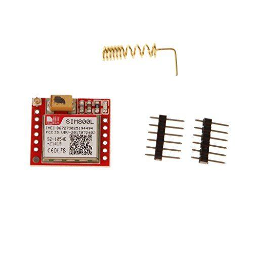 raspberryitalia gprs sim800l bordo trasferimento micro modulo porta ttl di base gsm sim per