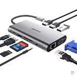 Hub USB 3 Type-C - HDMI VGA SD Card Audio Ethernet OTG - EUASOO - Recensione - Nicola Ottomano