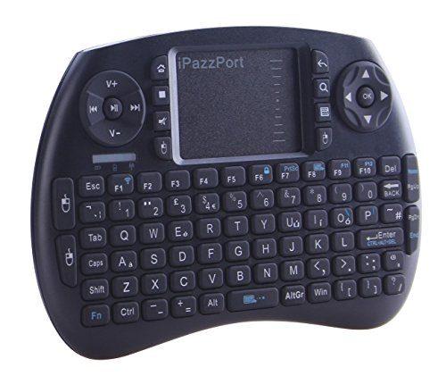 raspberryitalia ipazzport i8 mini wireless tastiera qwerty 24 ghz mini tastiera senza 1