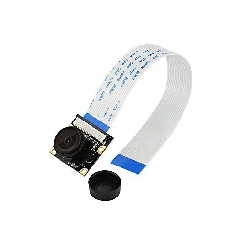 raspberryitalia keyestudio for raspberry pi camera fisheye grandangolare 5 mp 1080p night