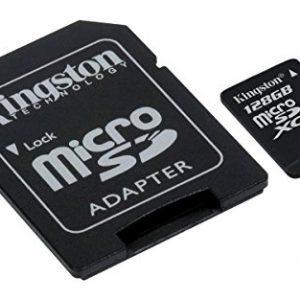 raspberryitalia kingston sdcs128gb canvas select scheda microsd 128 gb velocit uhs i di
