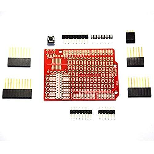 raspberryitalia kit arduinounor3mega2560328p prototipo prototipazione shield set per arduino