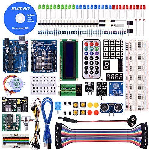 raspberryitalia kuman project super starter kit per arduino uno r3 mega2560 mega328 kit nano
