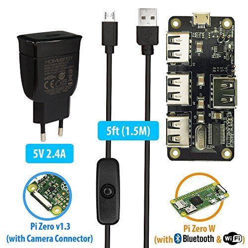 raspberryitalia maker spot 8in 1raspberry pi zero mega pack bh10128psu ve 1