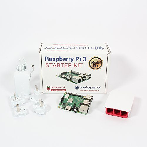 raspberryitalia melopero raspberry pi 3 model b official essentials kit white