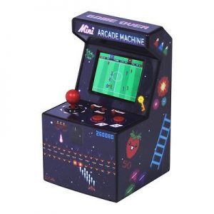 raspberryitalia mini arcade machine 80s desktop retro 240 games 16 bit portable videogames