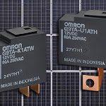 Omron, relè AC bistabili G9TA e G9TB per inverter fotovoltaici - EnergMagazine