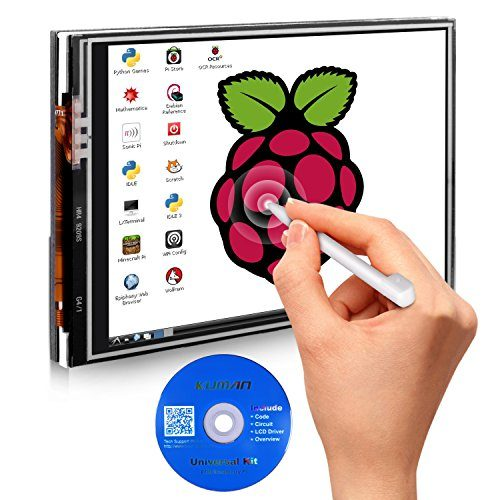 raspberryitalia per raspberry pi 3 tablet lcd touch screen 35 pollici 320480 resolution 2