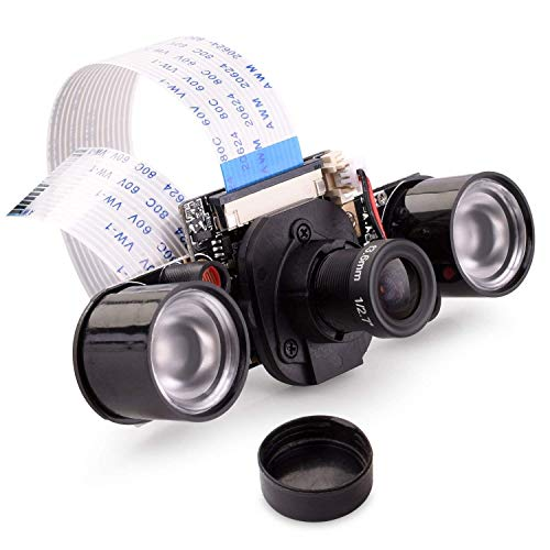 raspberryitalia quimat camera for raspberry pi ir cut 5mp ov5647 sensor adjustable focus