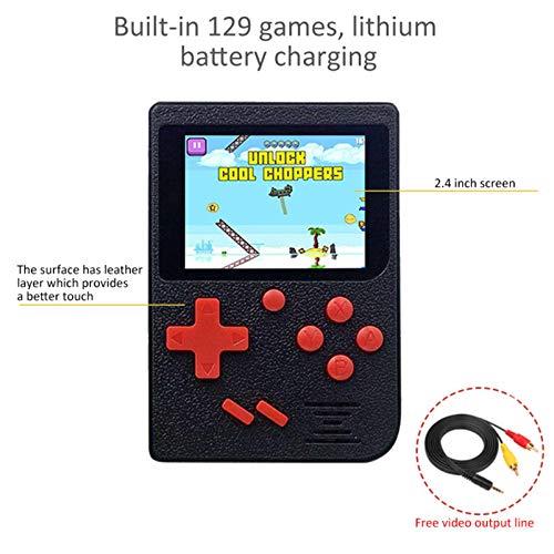 raspberryitalia qumox 25 lcd da pollici 8 bit giocatore di gioco portatile videogiochi 129