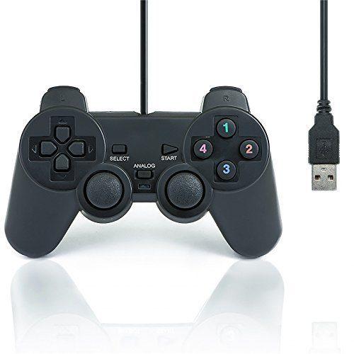 raspberryitalia qumox gamepad controller di gioco della barra di comando doppia vibrazione