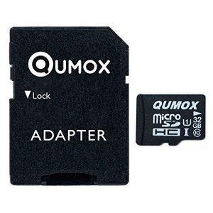 raspberryitalia qumox scheda di memoria micro sd 32gb classe 10 uhs i ad alta velocit