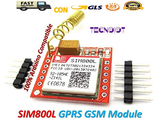 raspberryitalia sim800l gprs gsm module pcb antenna sim board quad band modulo gprs sim800l