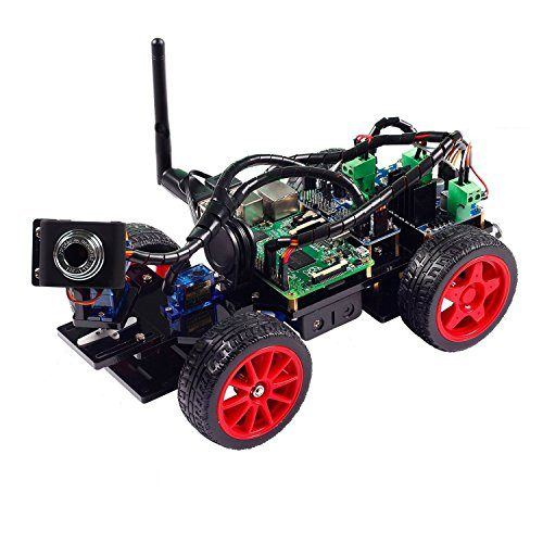 raspberryitalia smart video car kit for raspberry pi with android app compatible with rpi 3