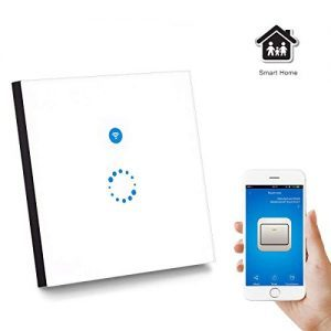 raspberryitalia sonoff wifi smart touch switch pannello google home and ewelink app
