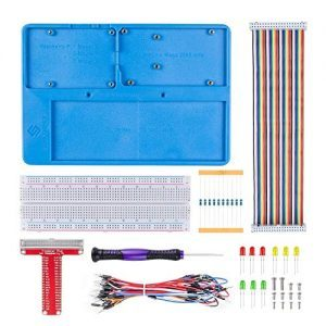 raspberryitalia sunfounder breadboard kit rab holder 830 points solderless circuit 1