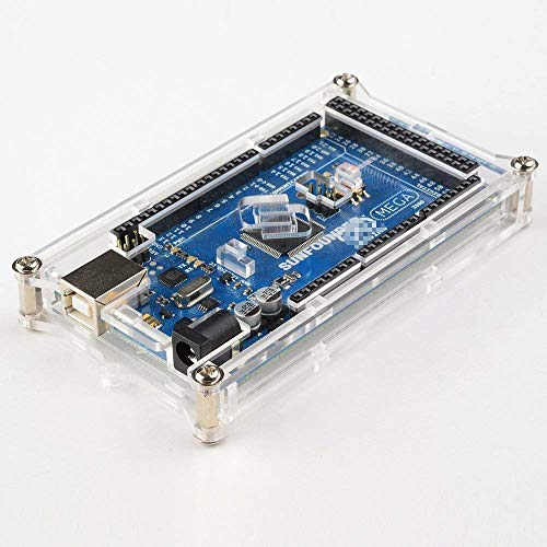 raspberryitalia sunfounder mega 2560 case enclosure transparent gloss acrylic computer box