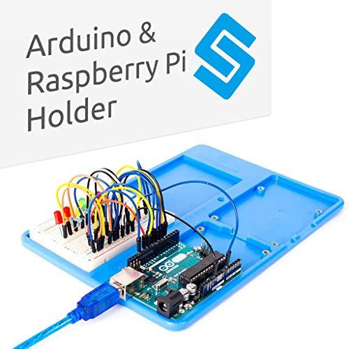 raspberryitalia sunfounder rab 5 in 1 breadboard holder base plate circuit board screws for