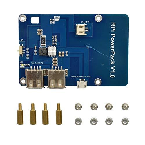 raspberryitalia versione senza batteria scheda di espansione batteria al litio alimentatore