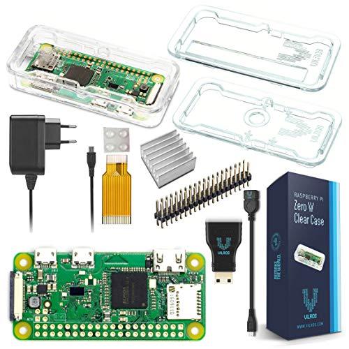 raspberryitalia vilros raspberry pi zero w basic starter kit eu plug edition