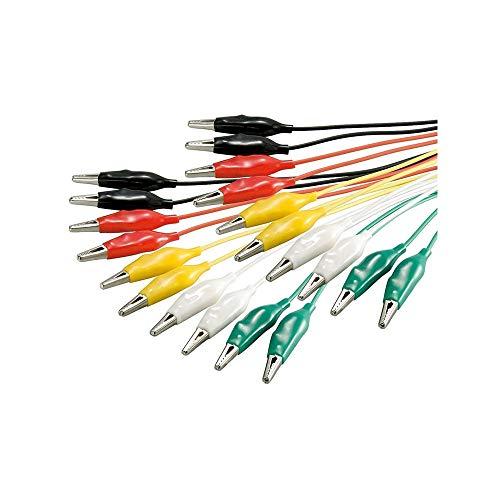 raspberryitalia wentronic kit cavi elettrici per test colorati 10 pezzi 5 colori