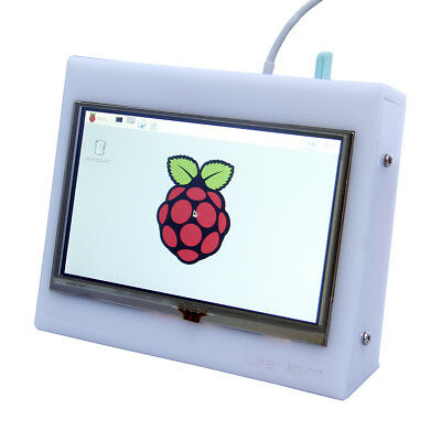 0835 - 5 Inch HDMI TFT LCD Touch Screen For Raspberry PI With Case