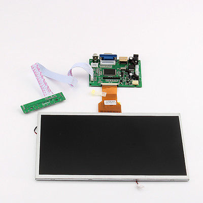 "10.1"" LCD Capacitivo Touch Screen + HDMI Viedio Driver Board Per Raspberry Pi"