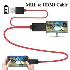 11PIN Micro USB MHL a HDMI 1080P HD TV Cavo Adattatore per Android Samsung Phone