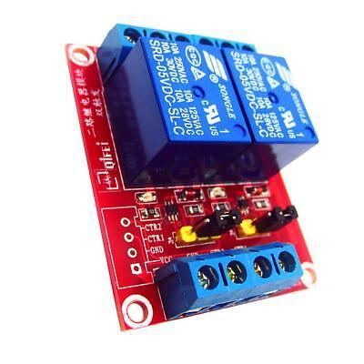 12V Scheda Modulo Relè A 2 Canali Livello H / L Per Arduino Raspberry Pi