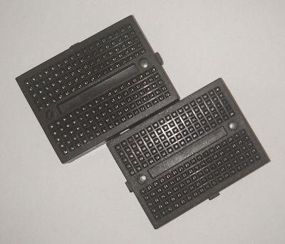 1x Small Breadboard Solderless Prototyping Board 170 Pin 2.54mm arduino black