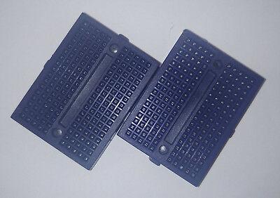 1x Small Breadboard Solderless Prototyping Board 170 Pin 2.54mm arduino blue