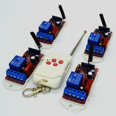 315MHz Relè RF Interruttore Wireless Modulo Ricevitore con Telecomando 50m