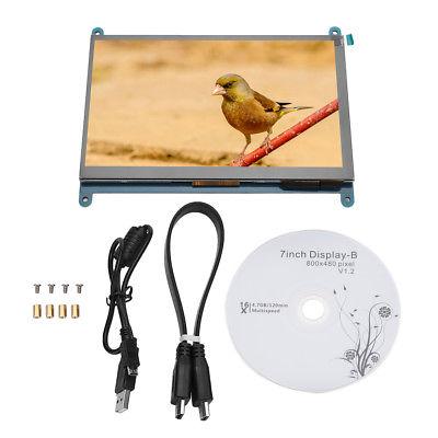 7 Pollici LCD Schermo HDMI Monitor Per Raspberry Pi 3 2 1 Per Computer