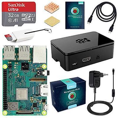 ABOX Raspberry Pi 3 Modello B+ (Plus) Starter Kit Barebone Madre con (o4N)