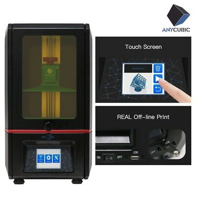 "ANYCUBIC PHOTON SLA Stampante 3D Resina UV LED Light-Cure 2.8"" TFT FEP Frame DE"
