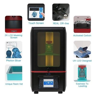 ANYCUBIC PHOTON UV SLA LCD Resina stampante 3d Completamente assemblato con TFT