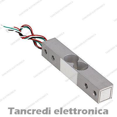 Cella di carico 5Kg bilancia sensore peso arduino pic sensore di pressione
